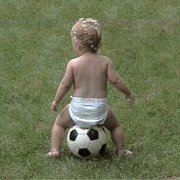 Girl on Soccer Ball