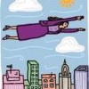 Superwoman Flying