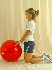 Forearm Roll on Physio Ball