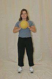 Forward Lunge - Medicine Ball Variation
