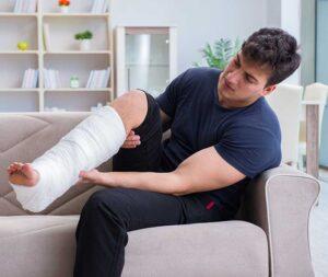 injured man - get back to fitness