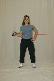 Shoulder External Rotation - Elastic Tubing