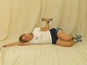 Shoulder External Rotation- Dumbbells