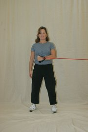 Shoulder Internal Rotation - Elastic Tubing