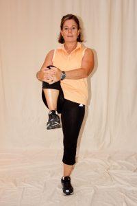 standing hip flexor stretch for pain