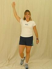 Vector Reach with Single Leg Squat